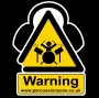 Large Percussion Zone Sticker
